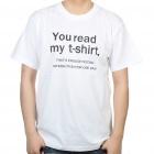 футболка с надписью в dealextreme