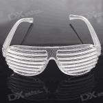Прикольные очки с прорезями