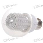 Лампа E27 - Белая (60-LED 6000K 300-Lumen) на dealextreme.com