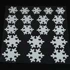 новогодние украшения - снежинки на dealextreme